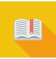 Book Single icon vector image vector image