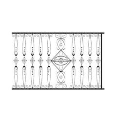 icon fence vector image vector image