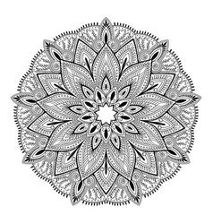 Mandala highly detailed inspired vector
