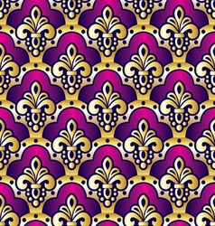 purple seamless vector image vector image