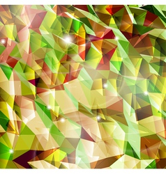 Abstract background with combination of triangle vector image