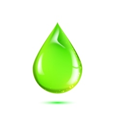 Beautiful drop of life vector image