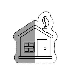 home ecology isolated icon vector image