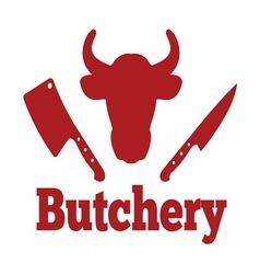 Butchery4 vector image vector image