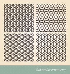 Seamless islamic background vector