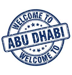 Welcome to abu dhabi vector
