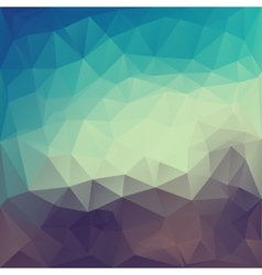 Magic triangle abstract background vector
