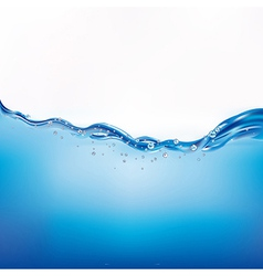 Beautiful water wave vector