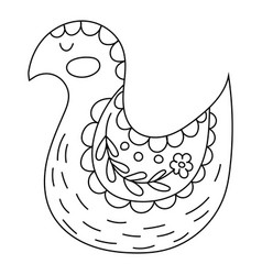 coloring book or pages for adults vector image