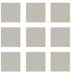pattern polka dot classic dotted gold glitter vector image