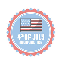 usa indepence day design vector image vector image