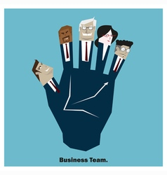 Business idea series business team 7 concept vector