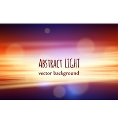 Beautiful nature abstract background with bokeh vector