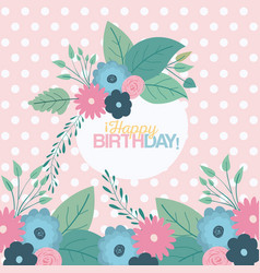 Color pastel background with dots and circular vector