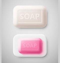 Isolated soap vector