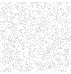 light lace floral seamless pattern vector image