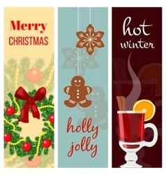 Christmas mood set vector image