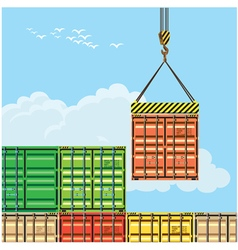 Container handling vector
