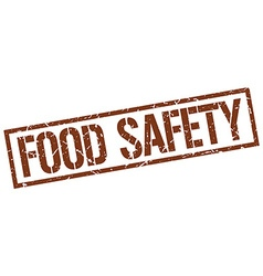 Food safety stamp vector