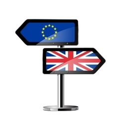 Brexit british referendum concept sign vector