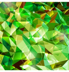 Abstract green background Combination of triangle vector image