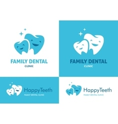 Family dental clinic vector image