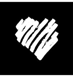Handdrawn heart vector