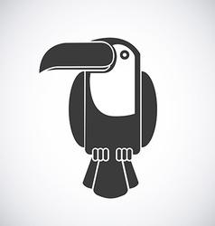 Toucan design vector