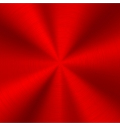 Red technology metal background vector