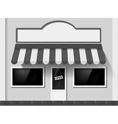 Shop window stock vector