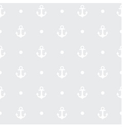 gray pattern the anchor for textile or card vector image