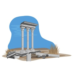 Greek Architecture vector image