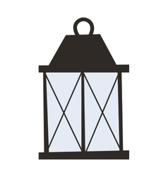 Street light vector image