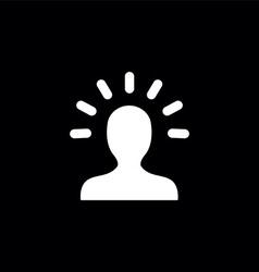 Good idea symbol vector