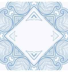 Oriental blue blue 03 frame vector