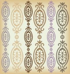 vintage border pattern vector image