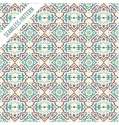 Boho style seamless pattern tribal ethnic vector