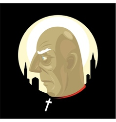 City Saint vector image vector image
