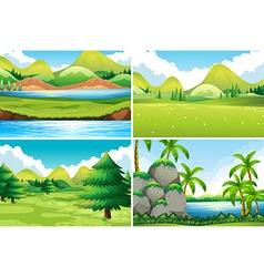 Scenes vector image