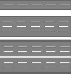 Set of road vector image vector image