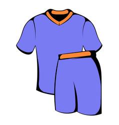 sport uniform icon icon cartoon vector image
