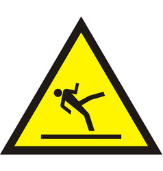 Caution wet floor vector