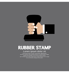 Rubber Stamp Tool vector image vector image