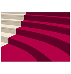 Elegant Staircase Background vector image