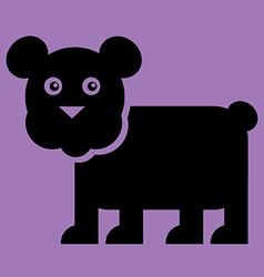 Bear Flat vector image