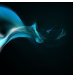 Blue smoke background vector