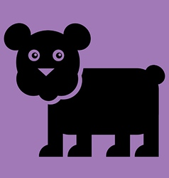 Bear Flat vector image vector image