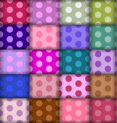 dots patterns vector image vector image