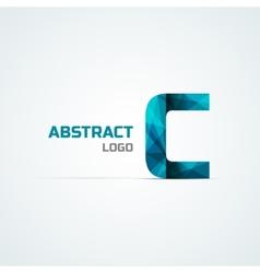Letter C icon design element vector image