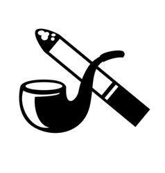 Smoke icon vector